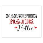Marketing Major Hottie Small Poster