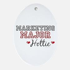 Marketing Major Hottie Oval Ornament