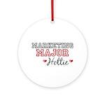 Marketing Major Hottie Ornament (Round)
