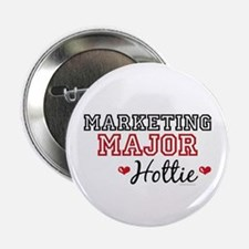 "Marketing Major Hottie 2.25"" Button (100 pack)"