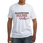 Marketing Major Hottie Fitted T-Shirt