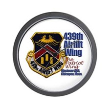 Air Force Shop Wall Clock