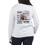 Hope Won/Dream to History Women's Long Sleeve T-Sh