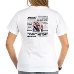 Hope Won/Dream to History Women's V-Neck T-Shirt