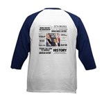 Hope Won/Dream to History Kids Baseball Jersey