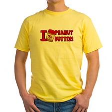 I Love Peanut Butter T