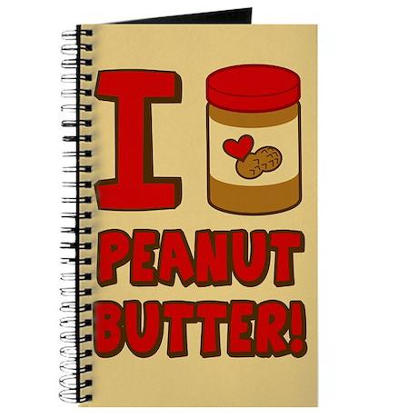 I Love Peanut Butter Journal