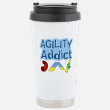 Dog Agility Addict Stainless Steel Travel Mug
