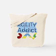 Dog Agility Addict Tote Bag