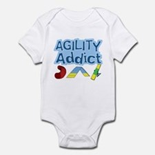 Dog Agility Addict Infant Bodysuit