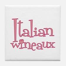 Italian Wineaux Tile Coaster