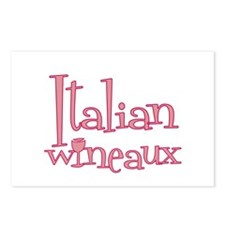 Italian Wineaux Postcards (Package of 8)