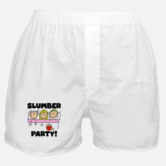 Slumber Party Boxer Shorts