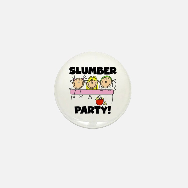 Slumber Party Mini Button