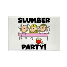 Slumber Party Rectangle Magnet