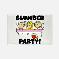 Slumber Party Rectangle Magnet (10 pack)