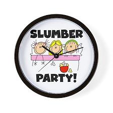 Slumber Party Wall Clock