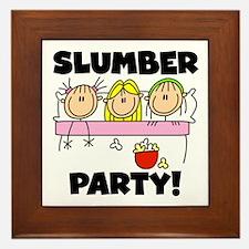 Slumber Party Framed Tile