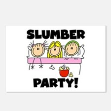 Slumber Party Postcards (Package of 8)