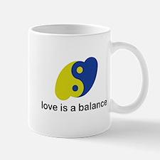 Love is a Balance Mug