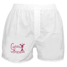 Cajun Wineaux crawfish Boxer Shorts