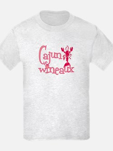 Cajun Wineaux crawfish T-Shirt