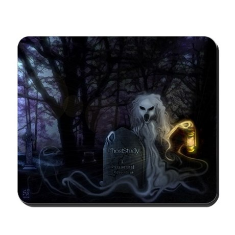Graveyard Ghost Mousepad
