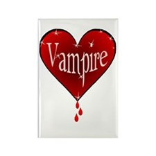 twilight vampire heart /bh Rectangle Magnet