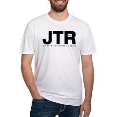 Santorini Greece JTR Black Des. Shirt