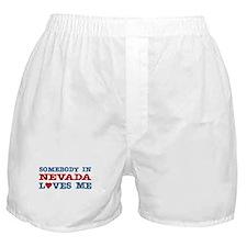 Somebody in Nevada Loves Me Boxer Shorts