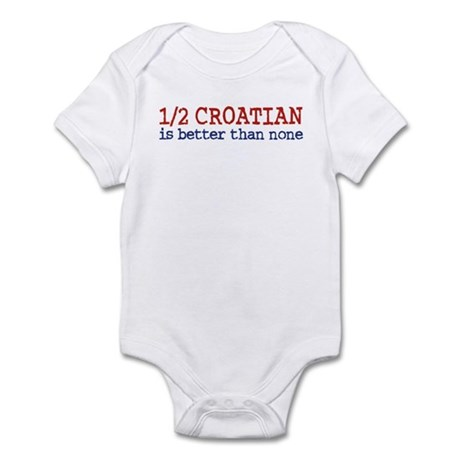 Half Croatian Infant Bodysuit