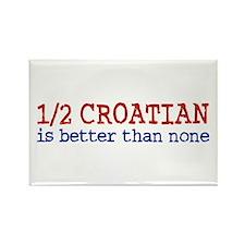 Half Croatian Rectangle Magnet