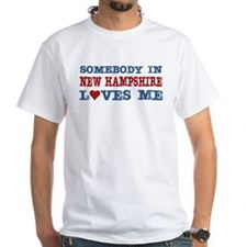 Somebody in New Hampshire Loves Me Shirt