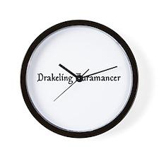 Drakeling Auramancer Wall Clock