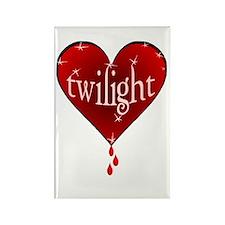 twilight apple /bh Rectangle Magnet