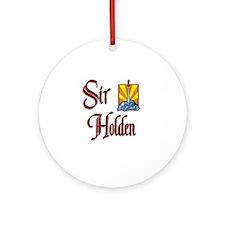 Sir Holden Ornament (Round)