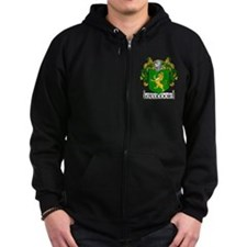 O'Connor Coat of Arms Zip Hoodie
