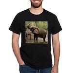 African Elephant 002 Dark T-Shirt