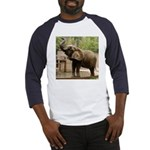 African Elephant 002 Baseball Jersey