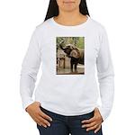 African Elephant 002 Women's Long Sleeve T-Shirt