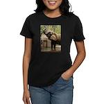 African Elephant 002 Women's Dark T-Shirt