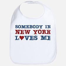 Somebody in New York Loves Me Bib