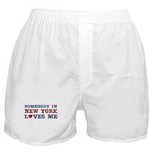 Somebody in New York Loves Me Boxer Shorts