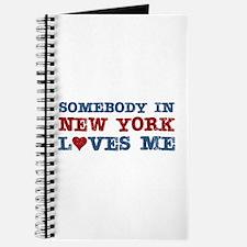 Somebody in New York Loves Me Journal