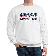 Somebody in New York Loves Me Sweatshirt