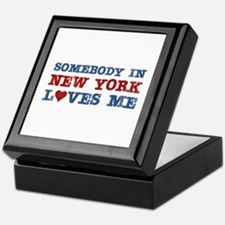 Somebody in New York Loves Me Keepsake Box