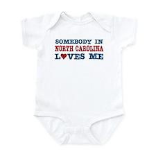 Somebody in North Carolina Loves Me Infant Bodysui