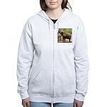 African Elephant 002 Women's Zip Hoodie