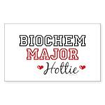 Biochem Major Hottie Rectangle Sticker 10 pk)
