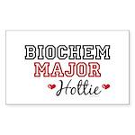 Biochem Major Hottie Rectangle Sticker 50 pk)